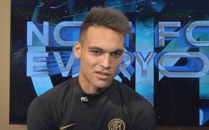 """Lautaro: """"Inter casa mia, Conte mi dà fiducia"""""""