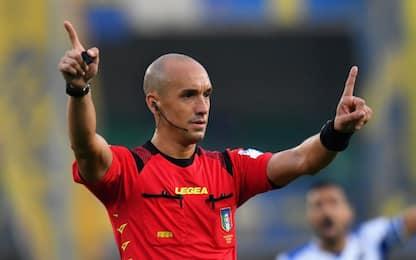 Fabbri per Lazio-Juve, Inter-Roma a Calvarese