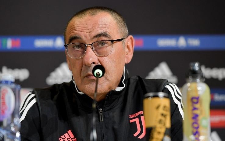 """Lazio-Juventus, Maurizio Sarri: """"Avere l'Inter davanti è uno stimolo in ..."""