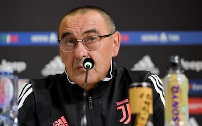 """Sarri: """"L'Inter davanti sarà uno stimolo in più"""""""
