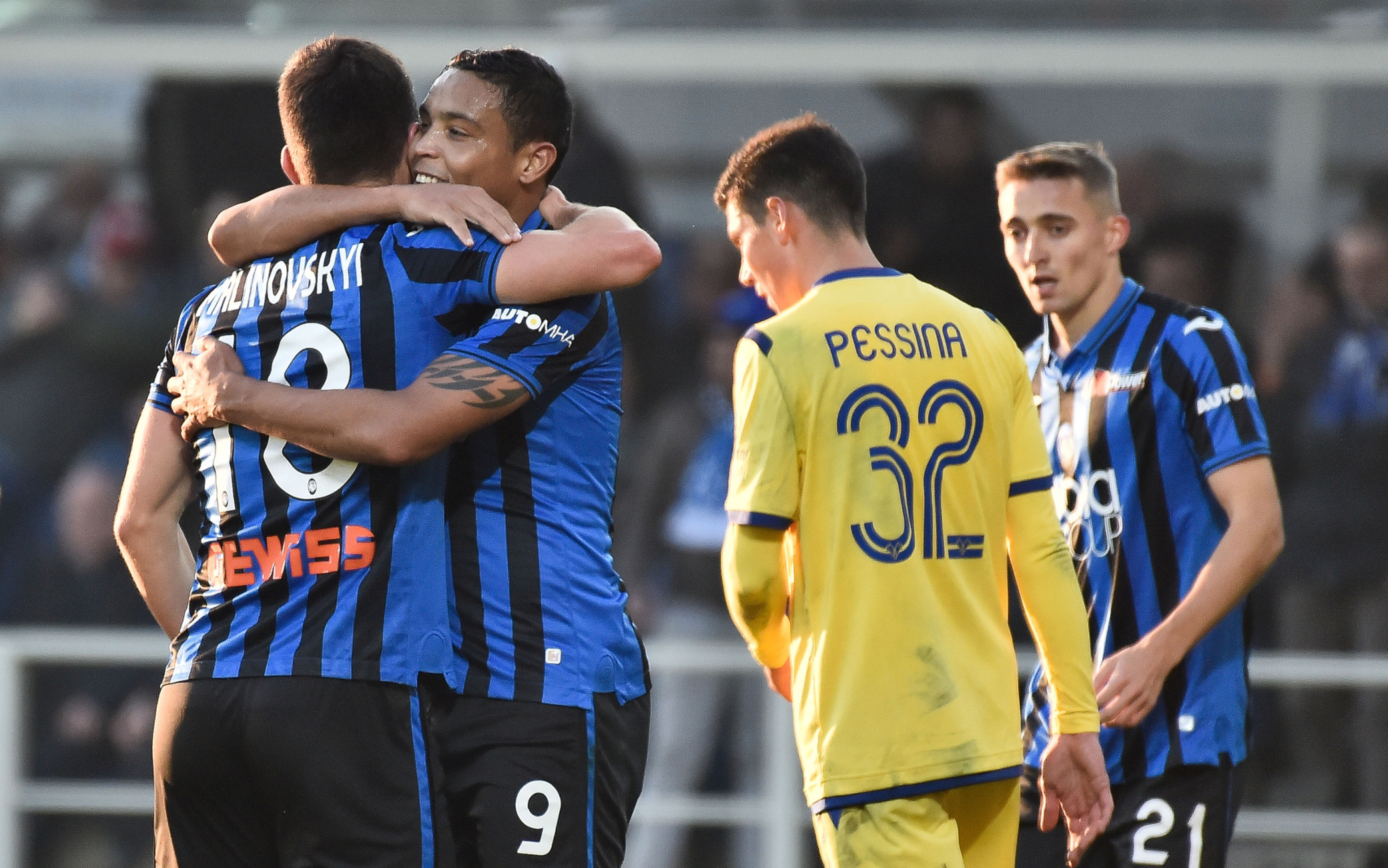 Atalanta-Verona 3-2: gol e highlights. Decide Djimsiti al 93'