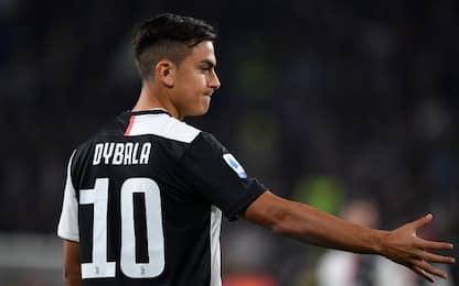 Lazio-Juve 0-0 LIVE: Dybala dal 1'