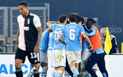 La Juve resta seconda, 3-1 Lazio in rimonta