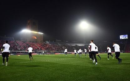 Bologna-Milan LIVE: c'è Mihajlovic in panchina
