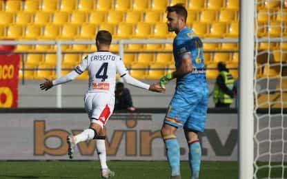 Lecce-Genoa 0-2 LIVE, Criscito raddoppia su rigore