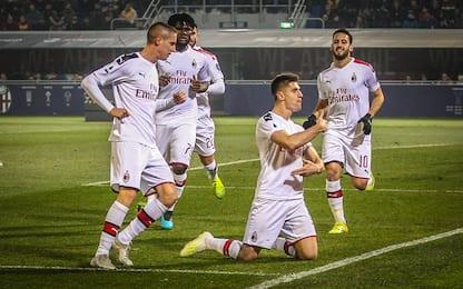 Pioli, Piatek e gioco: il Milan rinasce in Emilia