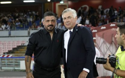 Napoli, se Ancelotti va via è già pronto Gattuso