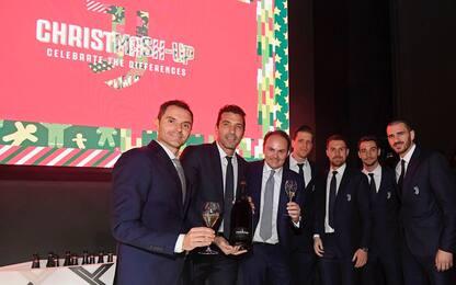 Natale in casa Juventus: le foto della festa