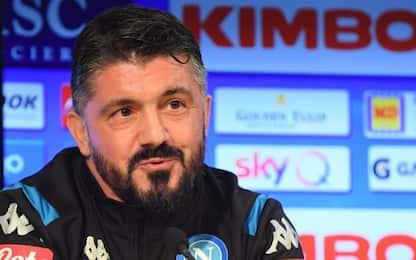 """Gattuso: """"Napoli perfetto per me, voglio 4° posto"""""""