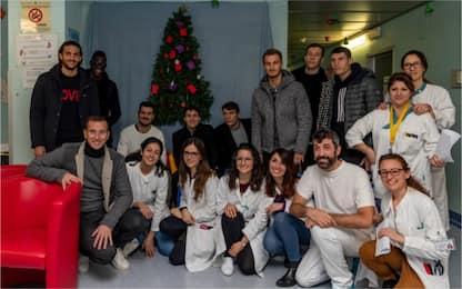 Brescia, regali ai pazienti degli Spedali Civili