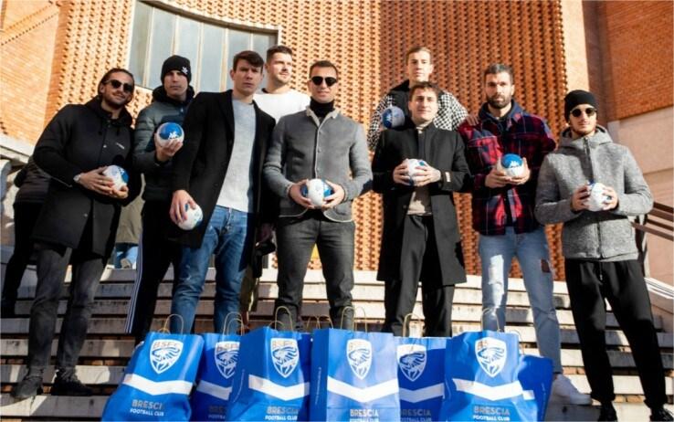 Brescia visita Spedali Civili