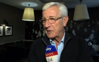 """Lippi: """"Gattuso non è solo grinta: farà bene"""""""
