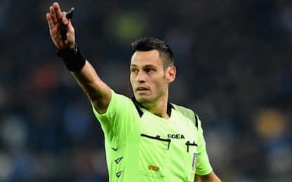 Mariani per Fiorentina-Inter: arbitri della 16^