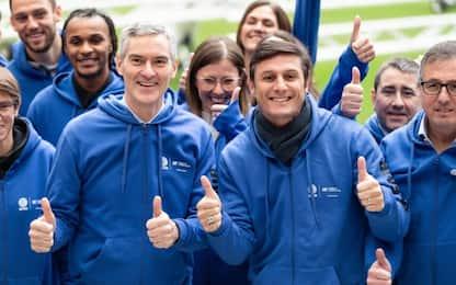 Inter visita quattro ospedali pediatrici di Milano