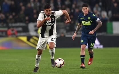 Juventus-Udinese, le probabili formazioni