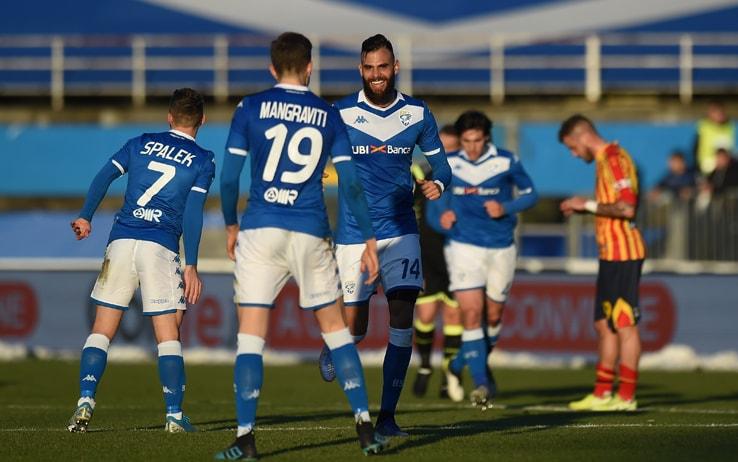 Brescia Lecce 3-0, gol e highlights: Corini vince la sfida salvezza