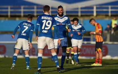 Il Brescia vince ancora: 3-0 al Lecce