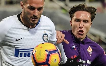 Fiorentina-Inter, le probabili formazioni