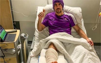 Ribery, intervento riuscito: fuori 10 settimane