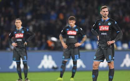 Gattuso parte male, Napoli ko 2-1 col Parma al 93'