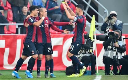 Bologna-Atalanta 2-1: Palacio e Poli stendono Gasp