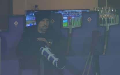 Ribery sprona i compagni negli spogliatoi