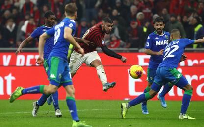 Milan fermo al palo: è 0-0 col Sassuolo