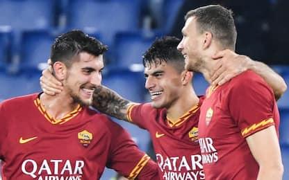 La Roma soffre, ma vince in rimonta: 3-1 alla Spal