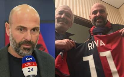 """Giulini: """"Riva presidente, è nostro primo tifoso"""""""