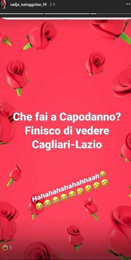 Cagliari, Nainggolan Instagram