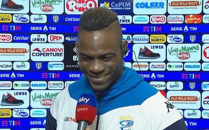"""Balotelli: """"Resto qui"""". E fa 'pace' con Marocchi"""