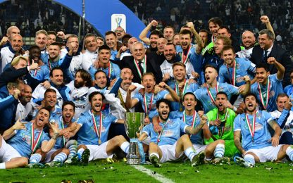 Supercoppa italiana alla Lazio: Juve battuta 3-1