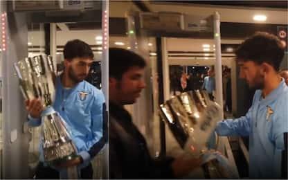 Lazio, la Supercoppa fermata al metal detector!