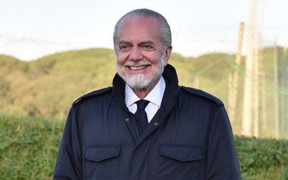 """De Laurentiis: """"Futuro radioso con Gattuso"""""""