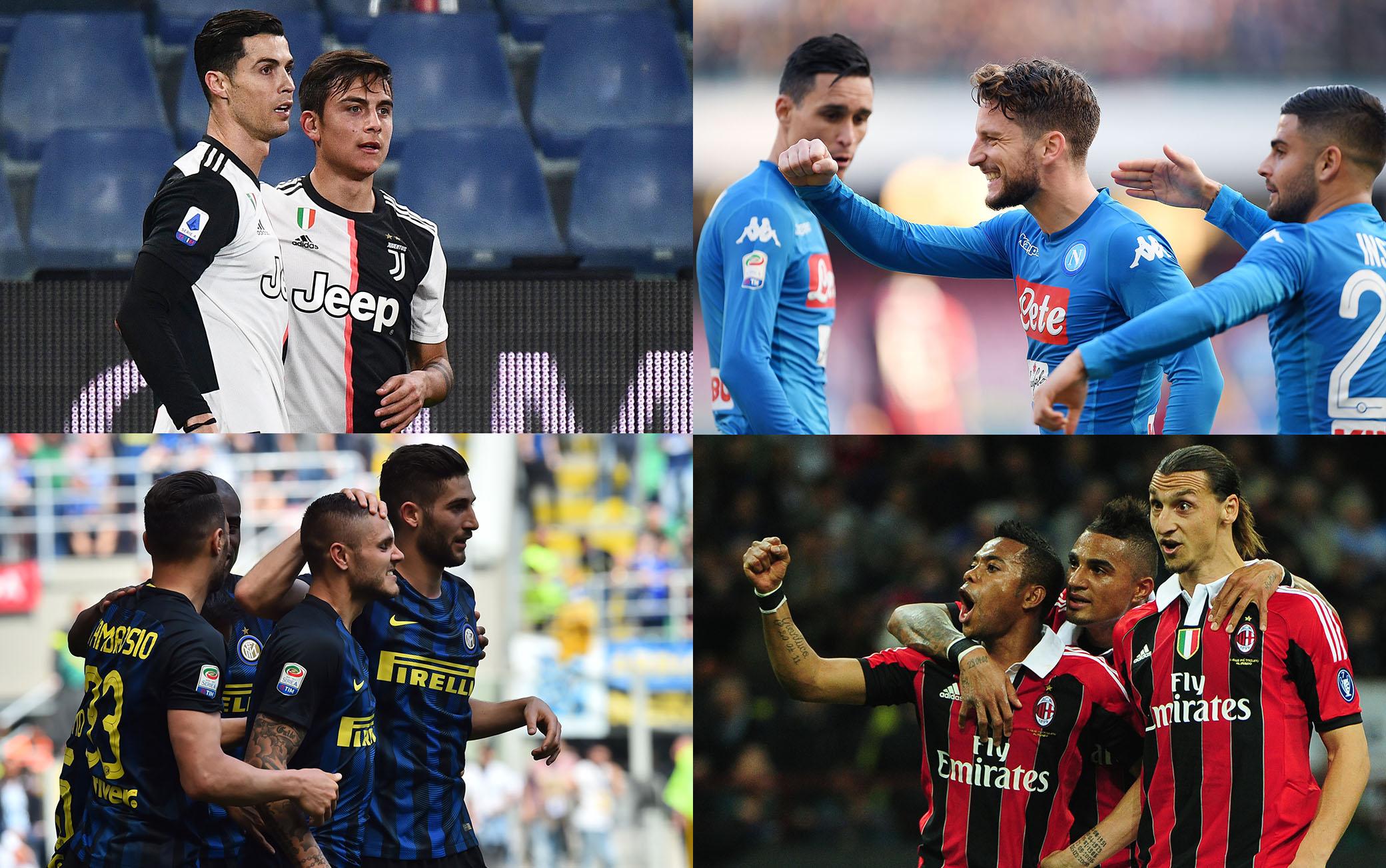 Serie A La Classifica Dei Gol Segnati Per Squadre Nel Decennio 2010 2019 Fanscalcio It