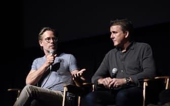 TELLURIDE, CO - SEPTEMBER 01:  Guy Pearce and Dan Friedkin attend the Telluride Film Festival 2019 attend on September 1st, 2019 in Telluride, Colorado.  (Photo by Vivien Killilea/Getty Images)