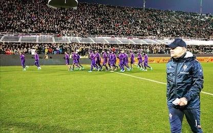 Fiorentina, in 8mila al Franchi per l'allenamento
