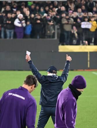 Fiorentina, che affetto dei tifosi per Beppe Iachini