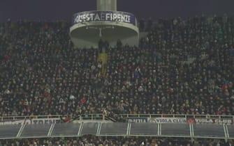 Fiorentina, quasi 10mila tifosi al Franchi per l'allenamento