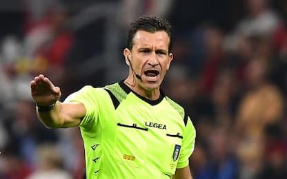 Napoli-Juve a Doveri, Fabbri per Inter-Lazio