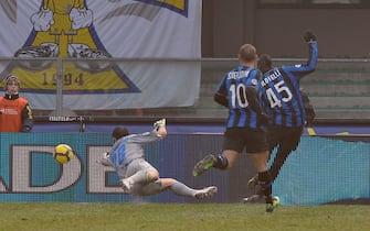 Chievo vs Inter Campionato Italiano Serie A Tim 2009 - 2010