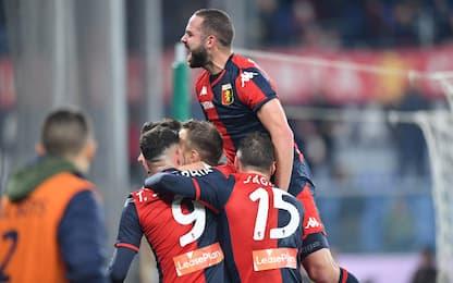 Nicola, esordio vincente: Genoa batte Sassuolo 2-1