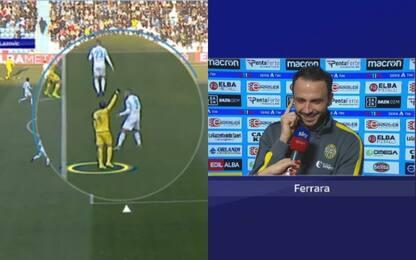 Pazzini spiega gol alla Spal allo Sky Tech. VIDEO