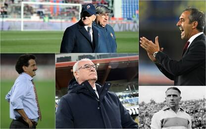 Allenatori con più squadre in Serie A: Iachini 3°
