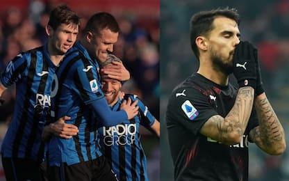 Atalanta, l'attacco è da record. Milan quartultimo