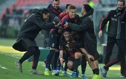 Orsolini-gol in extremis, Bologna-Fiorentina 1-1