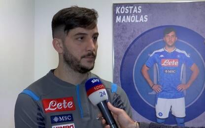 """Manolas: """"Gattuso dà tutto, ma ora servono punti"""""""