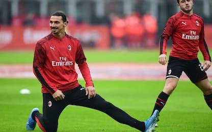 Cagliari-Milan, Ibra pronto al debutto dal 1'