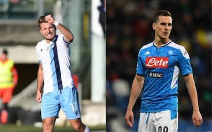 Lazio-Napoli, dove vedere la partita in tv