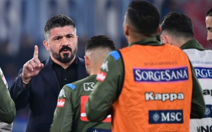 """Gattuso: """"L'errore di Ospina? Responsabilità mia"""""""